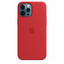 iPhone 12 Pro Max Silicone Case with MagSafe - (PRODUCT)RED