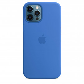 iPhone 12 Pro Max Silicone Case with MagSafe - Capri Blue