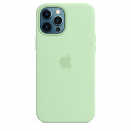 iPhone 12 Pro Max Silicone Case with MagSafe - Pistachio
