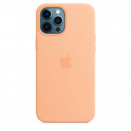 iPhone 12 Pro Max Silicone Case with MagSafe - Cantaloupe