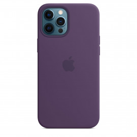 iPhone 12 Pro Max Silicone Case with MagSafe - Amethyst