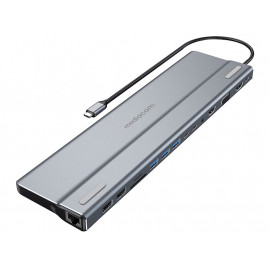Docking station - USB-C 3.1 - VGA, HDMI - GigE