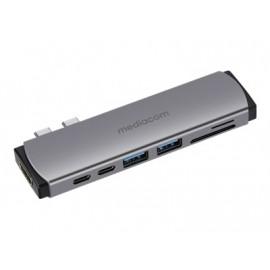 Dual USB-C con Power Delivery