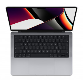 14-inch MacBook Pro: Apple M1 Pro chip with 8‑core CPU and 14‑core GPU, 512GB SSD - Space Grey