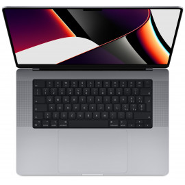 16-inch MacBook Pro: Apple M1 Pro chip with 10‑core CPU and 16‑core GPU, 512GB SSD - Space Grey