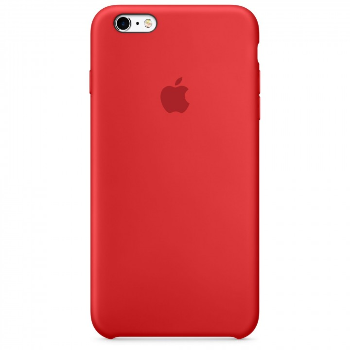 Custodia in silicone iPhone 6s Plus - (Product) Red