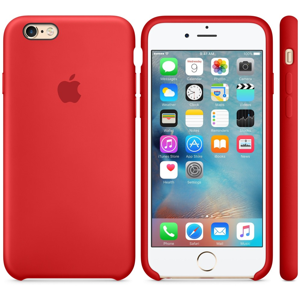 custodia iphone 6s rossa