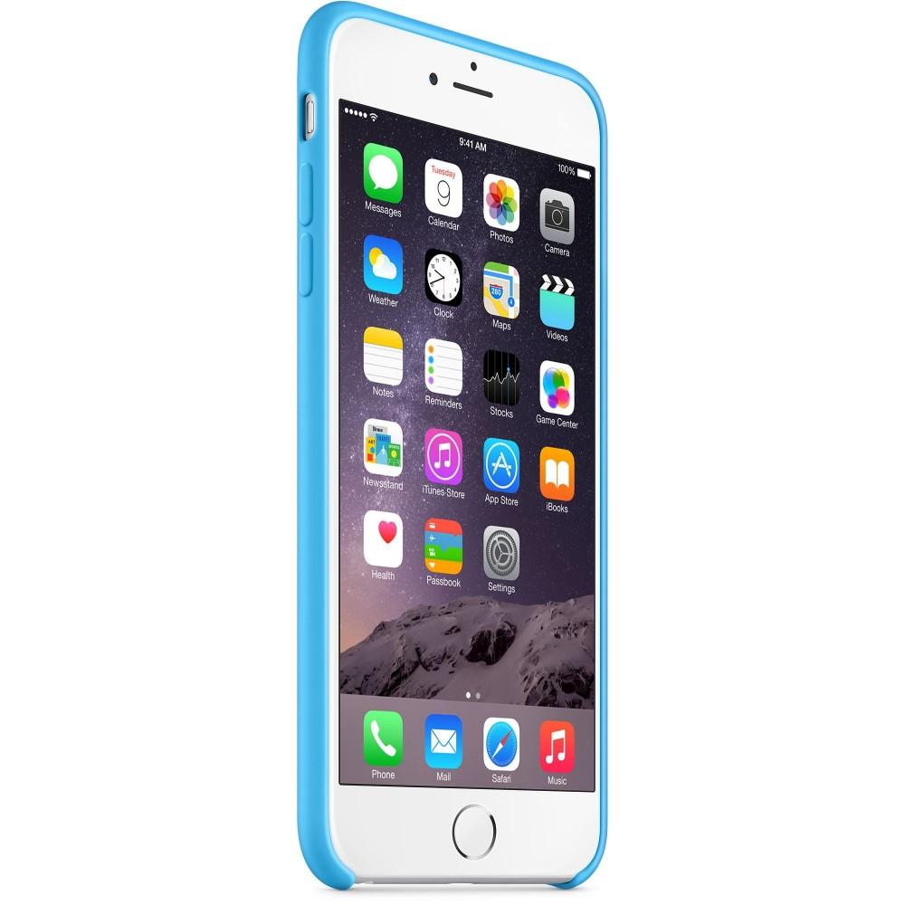 Custodia in silicone iPhone 6s Plus - Rosso - I.T. Store Srl