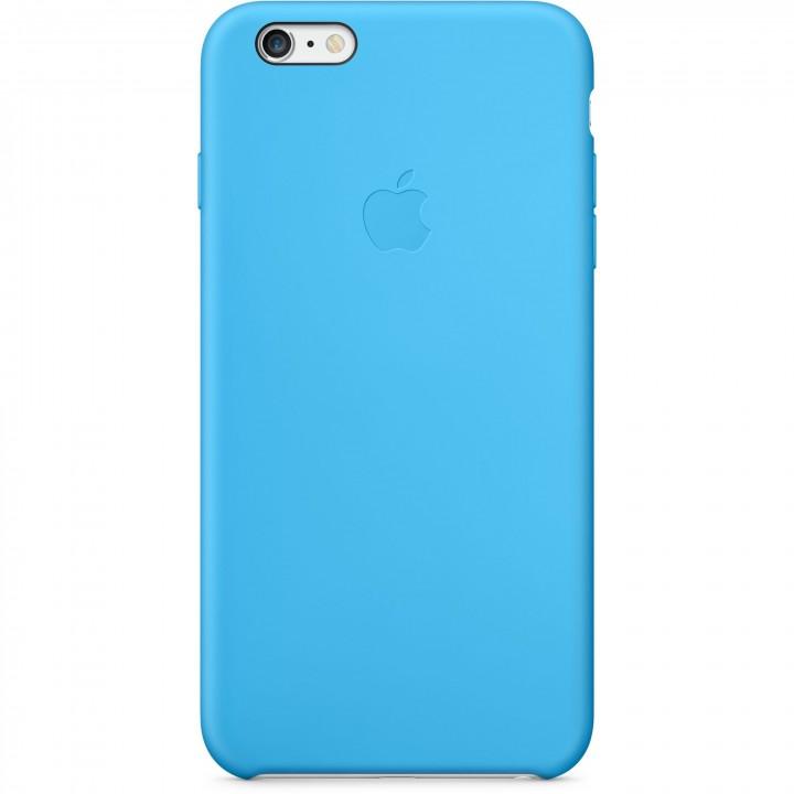 Custodia Apple in silicone per iPhone 6 Plus - Azzurro