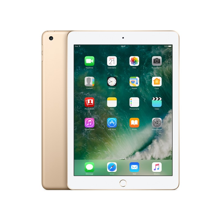 iPad Wi-Fi + Cellular 32 GB Oro
