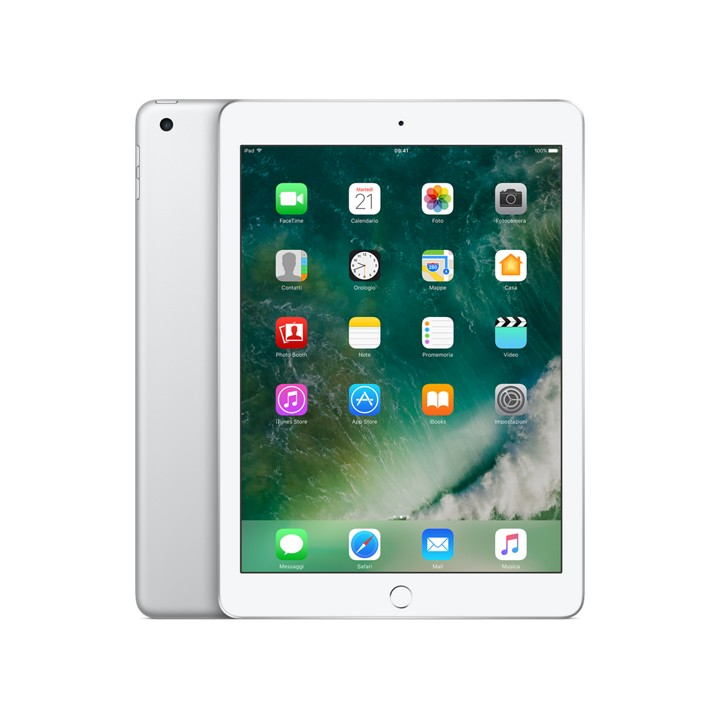 iPad Wi-Fi 128 GB Argento