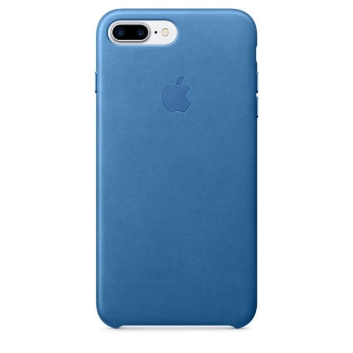 Custodia Apple In Pelle Per iPhone 7 Plus - Azzurro Mare