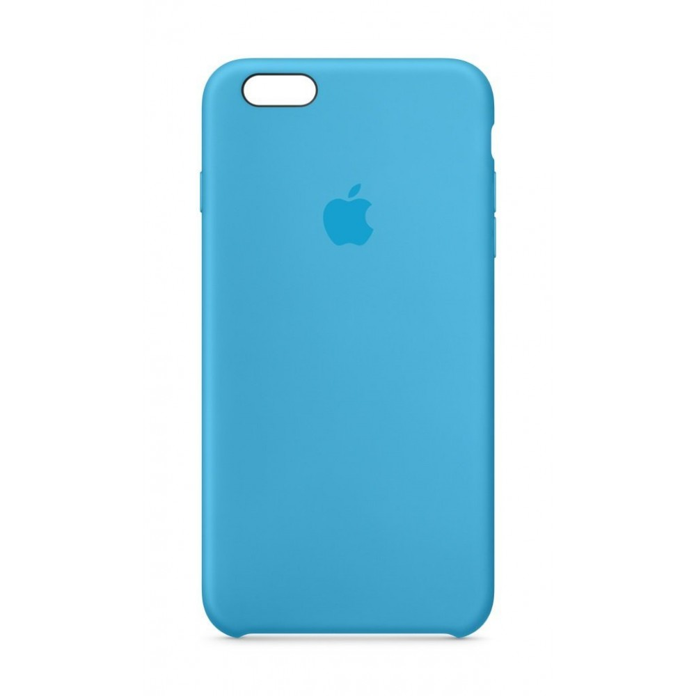 Custodia Apple In Silicone Per iPhone 6/6S Plus - Azzurro