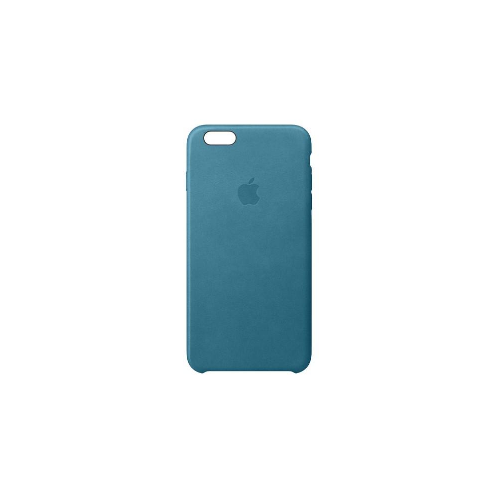 Custodia Apple In Pelle Per iPhone 6/6S Plus - Blu Oceano