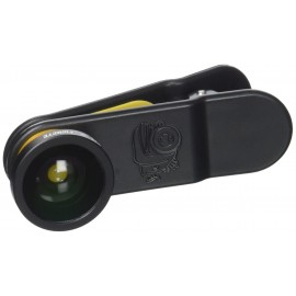 Black Eye Fisheye - Clip con Lente Angolare 180°