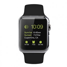 Melkco Ultra Thin Air Pc cover for AppleWatch 38mm transparent