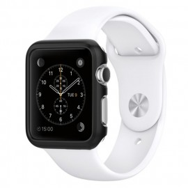 Melkco Aluminium Bumper for Apple Watch 42mm Metallic Black