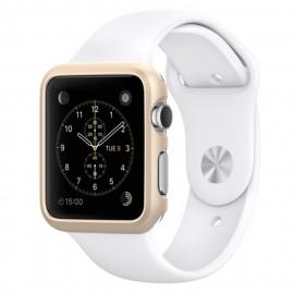 Melkco Aluminium Bumper for Apple Watch 42mm Metallic Gold