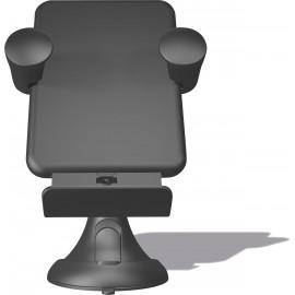 Supporto Con Ricarica Wireless QI Per Parabrezza E Cruscotto