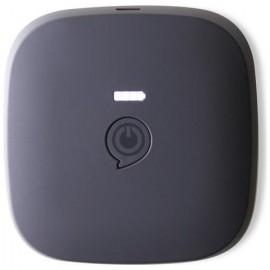 BATTERIA ESTERNA USB CON RICARICA WIRELESS QI 3000 MAH