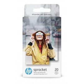 Confezione da 20 fogli di carta fotografica adesiva HP ZINKÆ per HP Sprocket