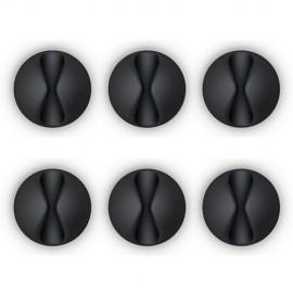 CABLEDROP BLACK - CLIP FERMA CAVO NERO