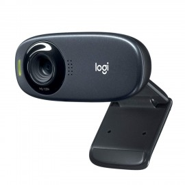 Webcam Logitech C310 - 1 Megapixel - USB 2.0 - 5 Megapixel Interpolata - 1280 x 720 Video - CMOS Sensore - Widescreen - Microfon