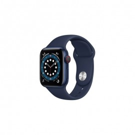 WATCH SERIE 6 GPS + CELLULAR 40MM ALLUMINIO AZZURRO - DEEP NAVY SPORT BAND