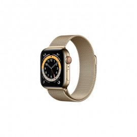 WATCH SERIE 6 GPS + CELLULAR 40MM ACCIAIO ORO - GOLD MILANESE LOOP