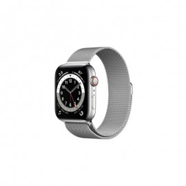 WATCH SERIE 6 GPS + CELLULAR 44MM ACCIAIO ARGENTO - SILVER MILANESE LOOP