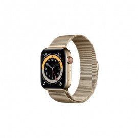 WATCH SERIE 6 GPS + CELLULAR 44MM ACCIAIO ORO - GOLD MILANESE LOOP