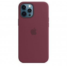 iPhone 12 Pro Max Silicone Case with MagSafe - Plum