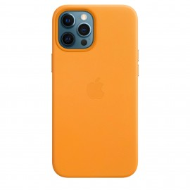 iPhone 12 Pro Max Leather Case with MagSafe - California Poppy