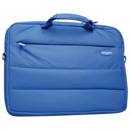 """IndiGo Italy Torino - Borsa tracolla per trasporto notebook - 13.3"""" - blu"""