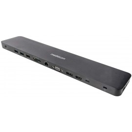 Docking Station Pro - Docking station - USB-C 3.1 - VGA, HDMI, DP - GigE