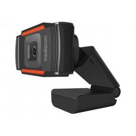 MEDIACOM M350 - Webcam - colore - 1280 x 720 - 720p - audio