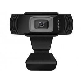 MEDIACOM M450 - Webcam - colore - 1920 x 1080 - 1080p - audio